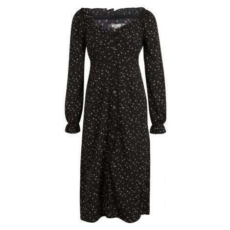 Missguided (Petite) Sukienka 'Ditsy' różowy pudrowy / czarny