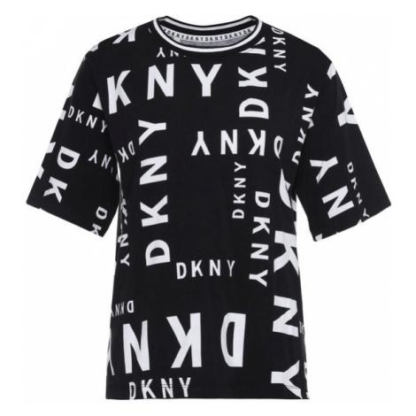 DKNY T-Shirt YI2422410 Czarny Regular Fit