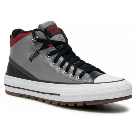 Trampki CONVERSE - Ctas Street Boot Hi 168867C Mason/Black/Team Red