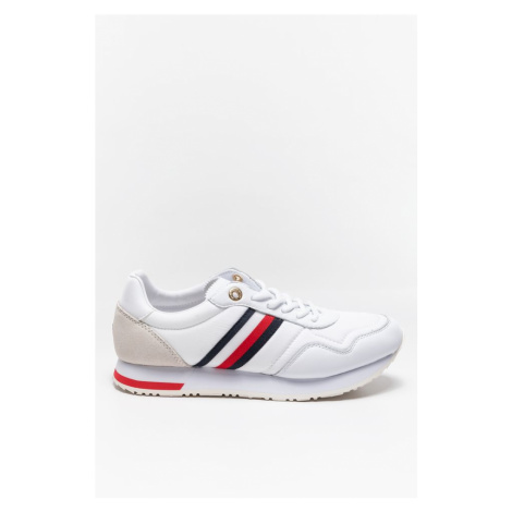 Buty Tommy Hilfiger Sneakersy Casual City Runner Fw0Fw05560Ybr White