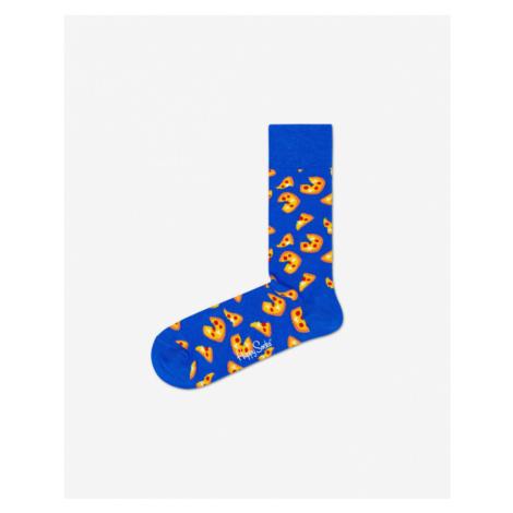 Happy Socks Pizza Skarpetki Niebieski