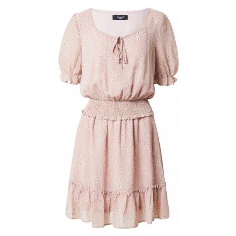 SISTERS POINT Sukienka 'ETEL' różowy pudrowy / biały