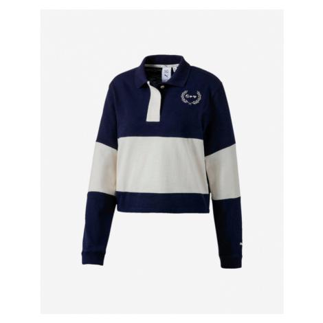 Puma Selena Gomez Rugby Polo Koszulka Niebieski Biały