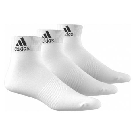 Adidas Performance Thin Ankle Socks 3 Pairs White (AA2320)