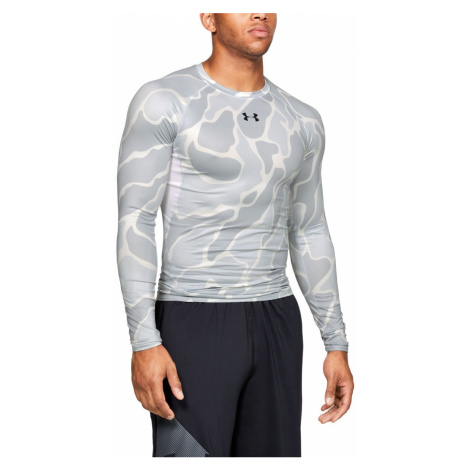 UA HG ARMOUR LS NOV-WHT Under Armour