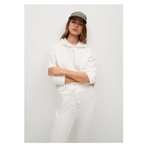Mango Bluza Maxime8 87954033 Biały Relaxed Fit