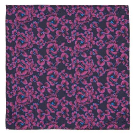 Label Lab Walcott Floral Woven Pocket Square