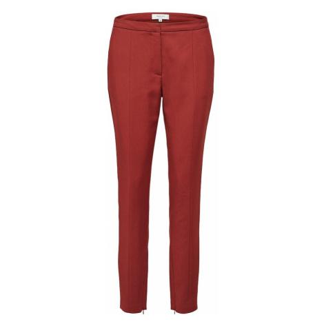 SELECTED FEMME Spodnie czerwony