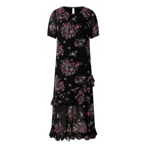 Dorothy Perkins Sukienka 'Ditsy' czarny / różowy