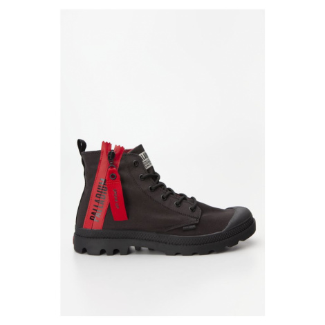 Buty Palladium Pampa Unzipped Black