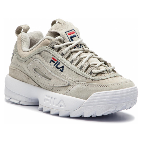Sneakersy FILA - Disruptor S Low Wmn 1010304.3JW Gray Violet