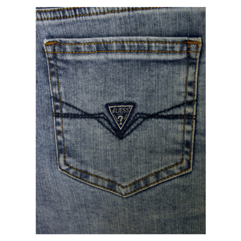 Guess Szorty jeansowe L02D18 D40J0 Niebieski Regular Fit