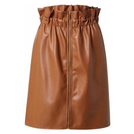 VILA Spódnica 'Josep' brązowy