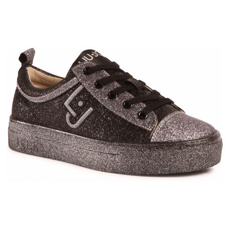 Sneakersy LIU JO - Alicia 147 4F0709 TX007 Black 22222