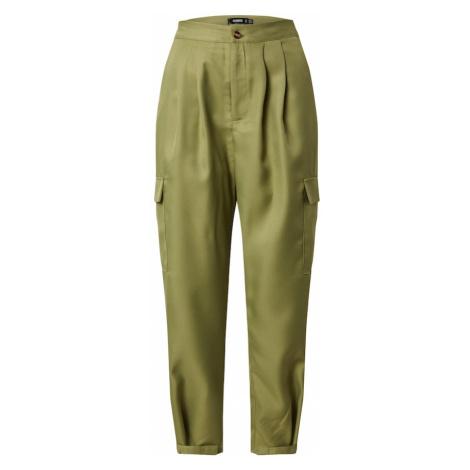 Missguided Spodnie oliwkowy