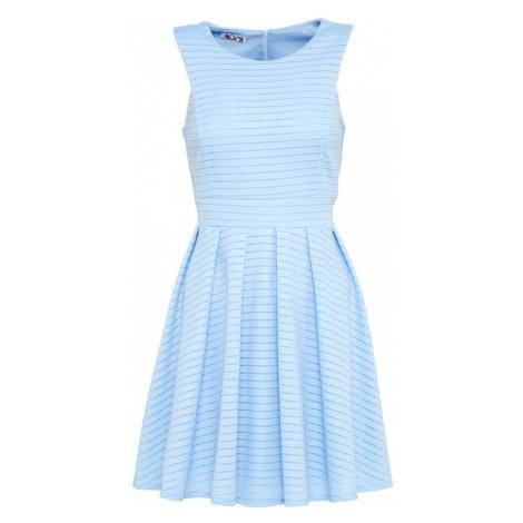 WAL G. Letnia sukienka jasnoniebieski