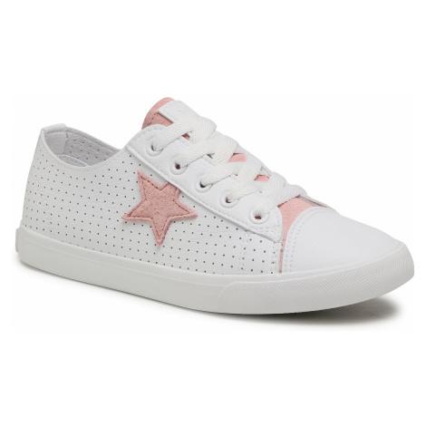 Sneakersy BIG STAR - DD274691 White/Pink