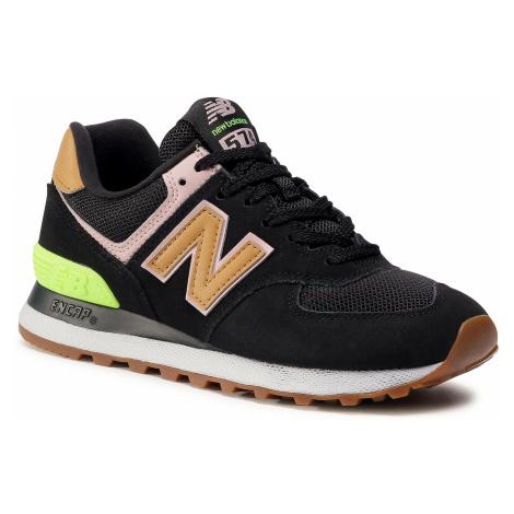 Sneakersy NEW BALANCE - WT574ATB Czarny