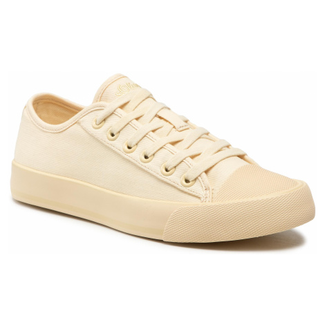 Trampki S.OLIVER - 5-23627-26 Pale Yellow 605