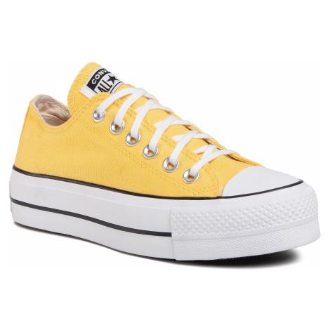 Trampki CONVERSE - Ctas Lift Ox 568627C Butter Yellow/White/Black