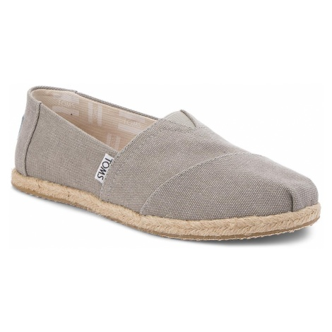 Espadryle TOMS - Classic 10009754 Drizzle Grey Washed