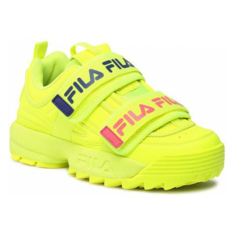 Fila Sneakersy Disruptor Straps Wmn 1010859.60S Żółty