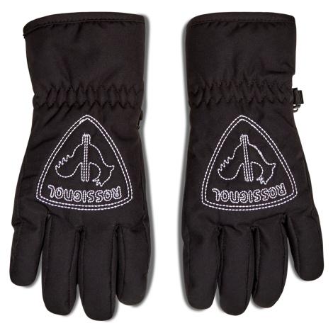 Rękawice narciarskie ROSSIGNOL - Jr Rooster RLIYG09 Black 200