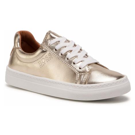 Sneakersy BOSS - J19044 M Golden Z98 Hugo Boss