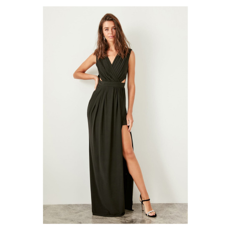 Trendyol Black Waist Lace Dresses Evening Dresses Dress