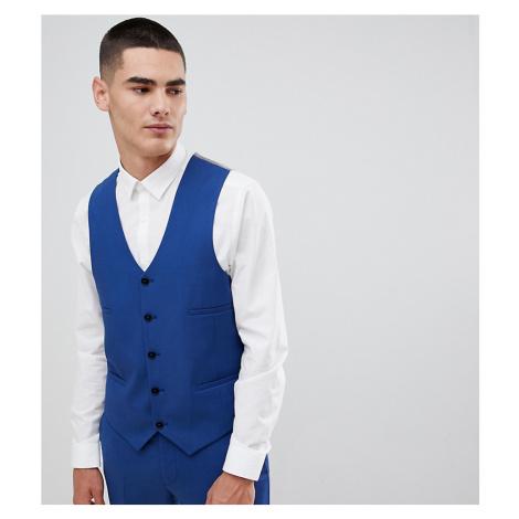 Noak super skinny waistcoat in blue