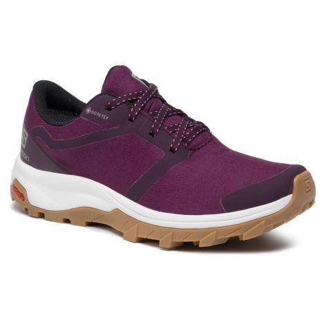 Buty SALOMON - Outbound Gtx W GORE-TEX 407918 20 V0 Potent Purple/White/Gum1A