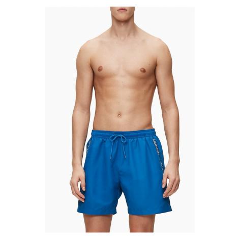 Calvin Klein niebieski męski strój kąpielowy Medium Drawstring