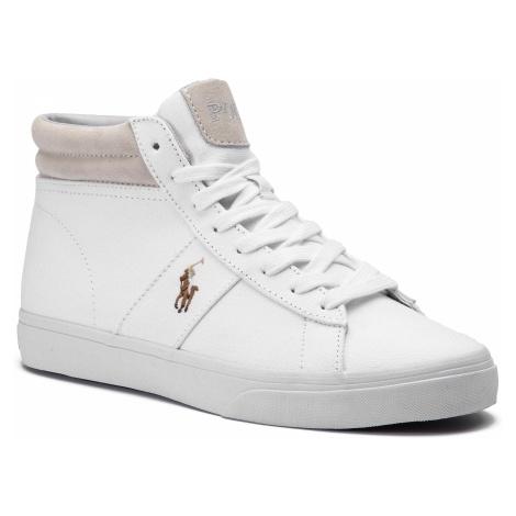 Sneakersy POLO RALPH LAUREN - Shaw 816749370002 White