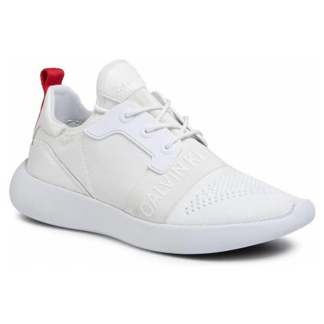 Sneakersy CALVIN KLEIN JEANS - Mel Knit SE8596 White