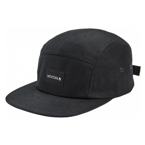 czapka z daszkiem Nixon Mikey Strapback - Black