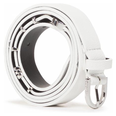 Pasek Damski CALVIN KLEIN - Round Buckle Belt 20MM W Charms K60K607324 0K8