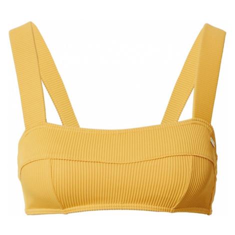 ROXY Góra bikini złoty żółty
