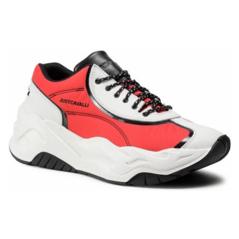 Just Cavalli Sneakersy S08WS0160 Biały