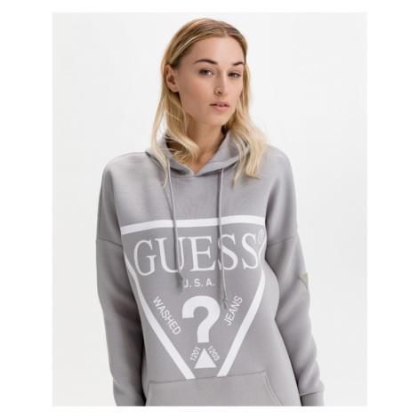 Guess Triangle Logo Sukienka Szary