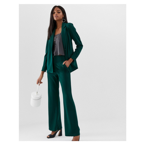 Y.A.S wide leg trouser in green