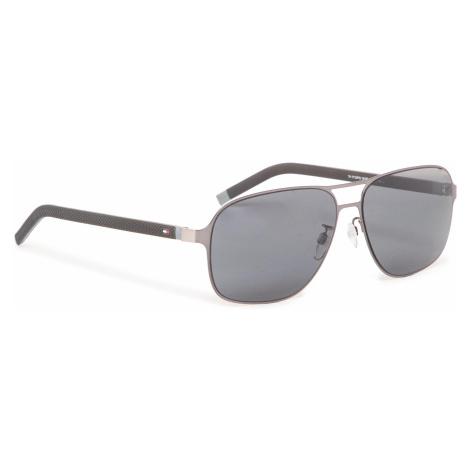 Okulary przeciwsłoneczne TOMMY HILFIGER - 1719/F/S Dkruth Black V81