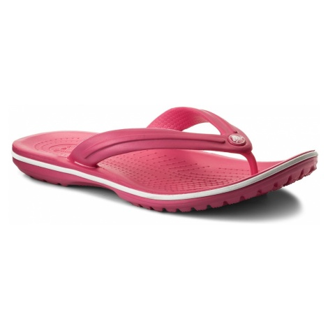 Japonki CROCS - Crocband Flip 11033 Paradise Pink/White