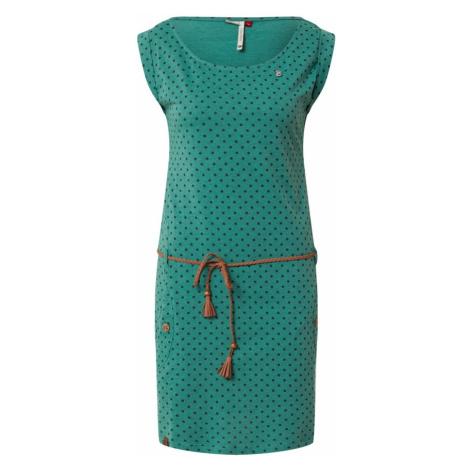 Ragwear Letnia sukienka zielony