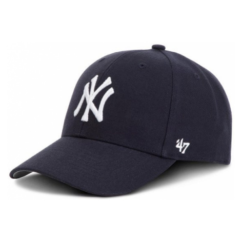 47 Brand Czapka z daszkiem New York Yankees 47 B-MVP17WBV-HM Granatowy