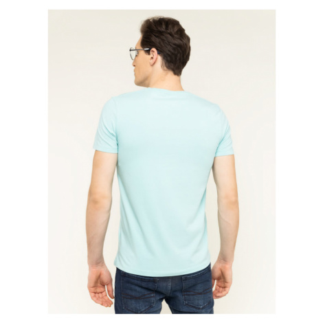 Pepe Jeans T-Shirt Original Stretch V PM500373 Niebieski Slim Fit
