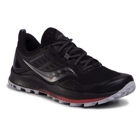 Buty SAUCONY - Peregrine 10 S20556-20 Black/Red