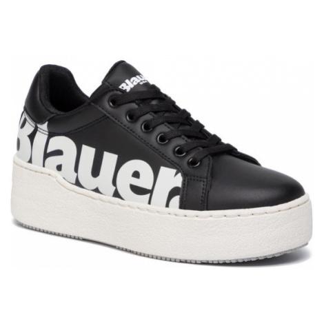Blauer Sneakersy 9FMADELINE03/LEA Czarny