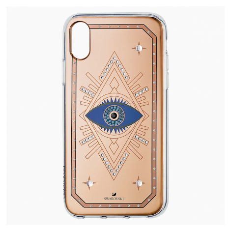 Etui na smartfona Tarot Eye, iPhone® XR, różowe złoto Swarovski