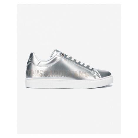 Trussardi Jeans Tenisówki Srebrny