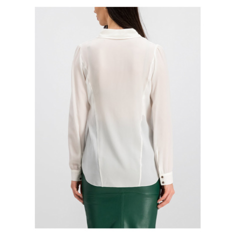 Patrizia Pepe Koszula 8C0289/A156-W146 Biały Comfort Fit